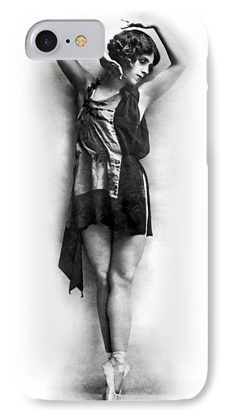 Portrait Of Dancer Agnes Boone IPhone Case by Underwood Archives