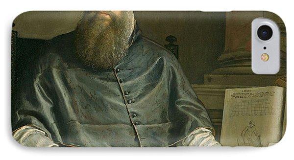 Portrait Of Daniele Barbaro Phone Case by Paolo Caliari Veronese