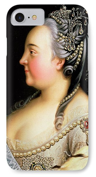 Portrait Of Elizabeth Petrovna Empress Of Russia IPhone Case