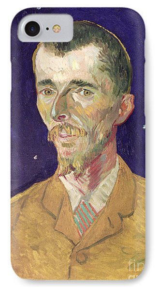 Portrait Of Eugene Boch Phone Case by Vincent Van Gogh