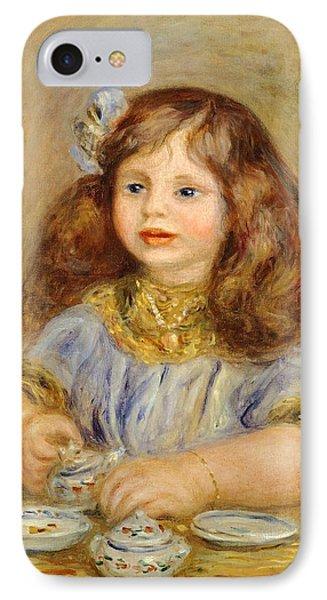 Portrait Of Genevieve Bernheim De Villiers IPhone Case