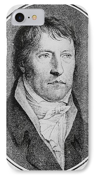 Portrait Of Georg Wilhelm Friedrich Hegel  IPhone Case