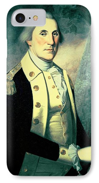 Portrait Of George Washington Phone Case by James the Elder Peale