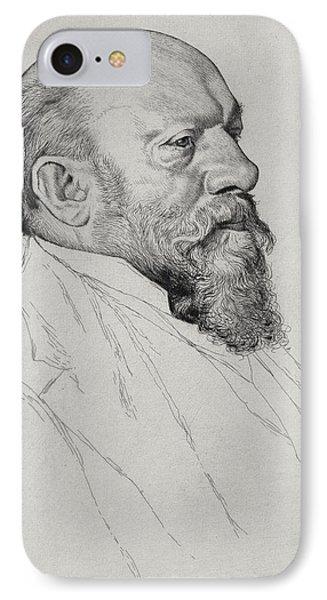 Portrait Of Hans Richter IPhone Case