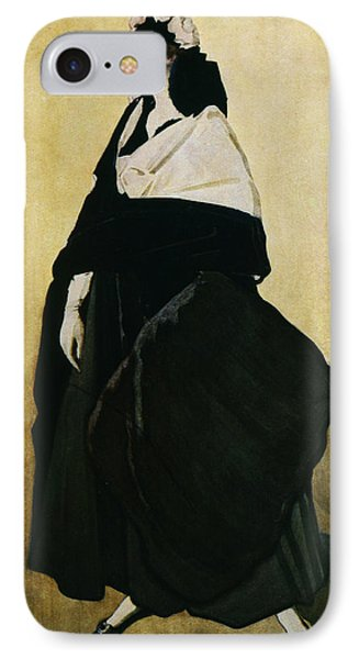 Portrait Of Ida Lvovna Rubinstein Phone Case by Leon Bakst