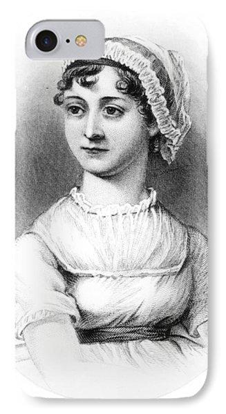 Portrait Of Jane Austen IPhone Case