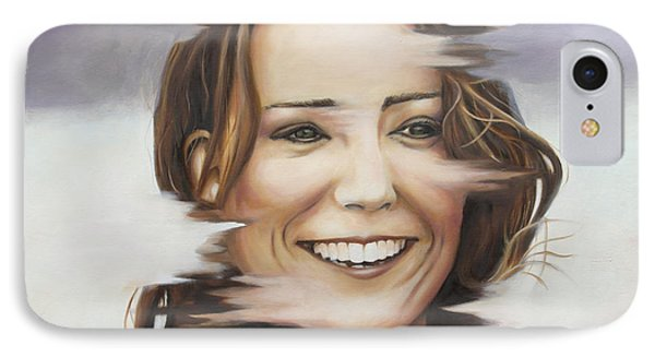 Portrait Of Kate Middleton IPhone Case