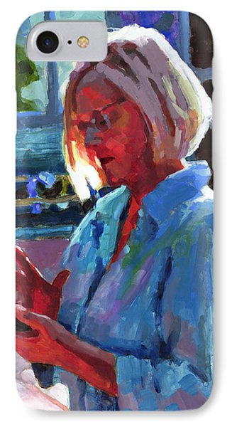 Portrait Of Kelly IPhone Case by Douglas Simonson