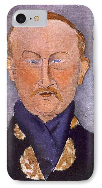 Portrait Of Leon Bakst IPhone Case