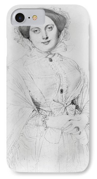 Portrait Of Madame Ingres IPhone Case