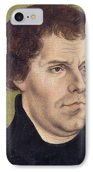 Portrait Of Martin Luther Aged 43 IPhone Case