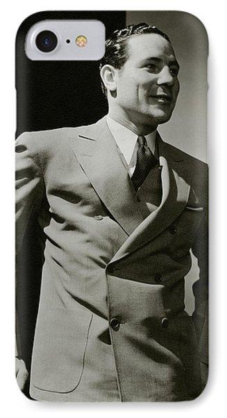 Portrait Of Maximilian Adelbert Baer IPhone Case by Edward Steichen