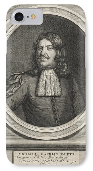 Portrait Of Michael Mathias Smidts, Print Maker Andries IPhone Case