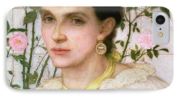 Portrait Of Mrs George Henry Boughton IPhone Case by English School