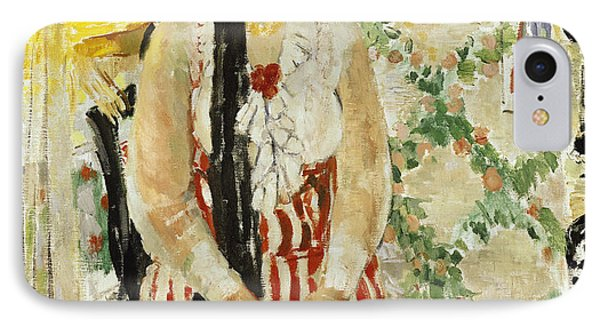 Portrait Of Nel Wouters IPhone Case by Rik Wouters