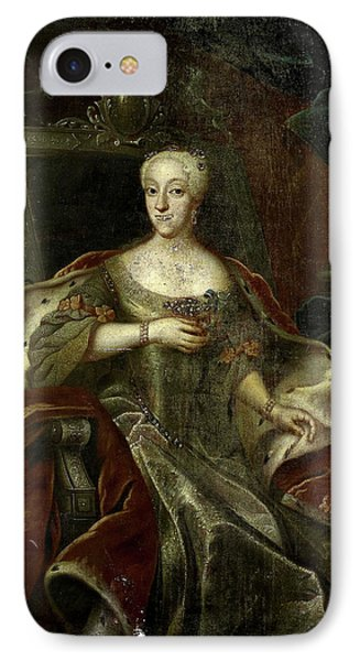 Portrait Of Princess Charlotte Amalie, Daughter IPhone Case by Litz Collection