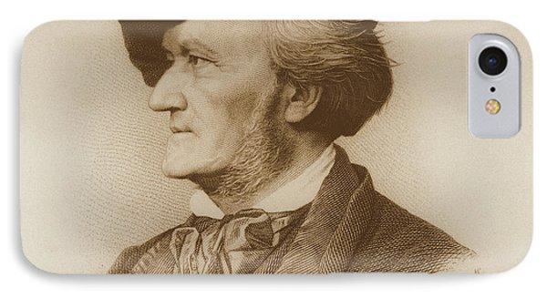Portrait Of Richard Wagner German IPhone Case by German School