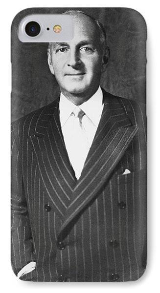 Portrait Of Robert Lehman IPhone Case