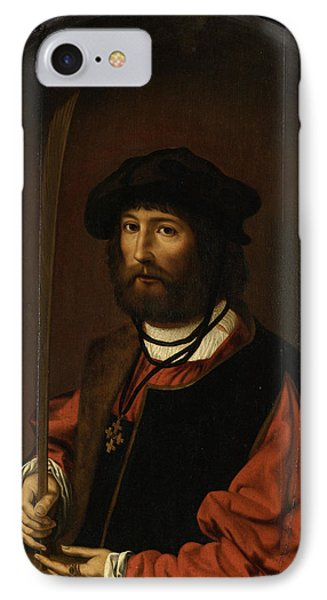 Portrait Of Ruben Parduyn, Knight Of The Holy Sepulchre IPhone Case
