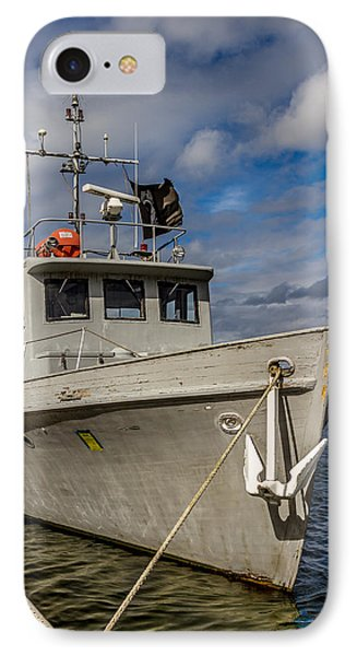 Portrait Of Ship IPhone Case by Rob Green