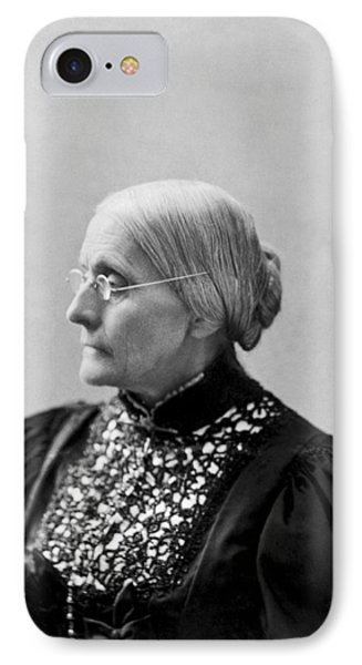 Portrait Of Susan B. Anthony IPhone Case