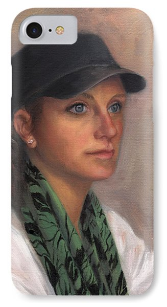Portrait Of Taylor IIi Phone Case by Terri  Meyer