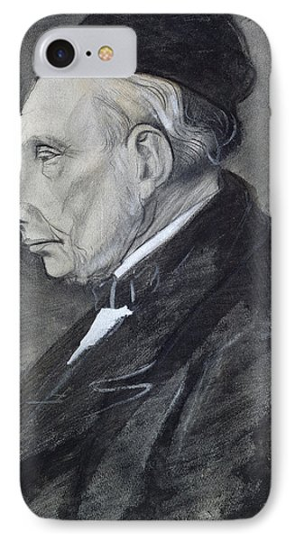 Portrait Of The Artists Grandfather Phone Case by Vincent Van Gogh