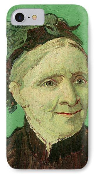 Portrait Of The Artist's Mother Phone Case by Vincent van Gogh