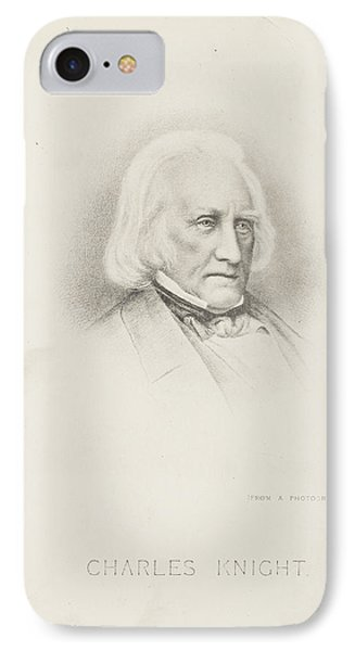 Portrait Of The Author IPhone Case by British Library