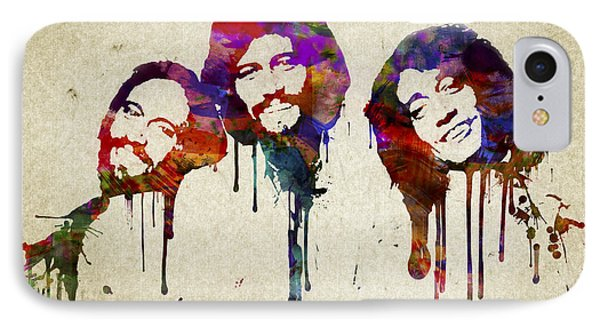 Portrait Of The Bee Gees IPhone Case