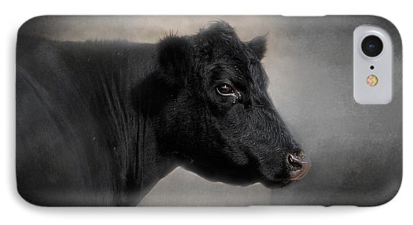 Portrait Of The Black Angus IPhone Case