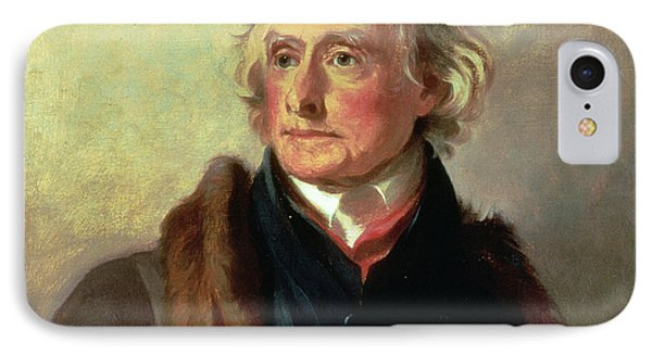 Portrait Of Thomas Jefferson IPhone Case by Thomas Sully