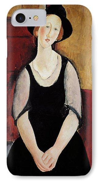 Portrait Of Thora Klinchlowstrom IPhone Case