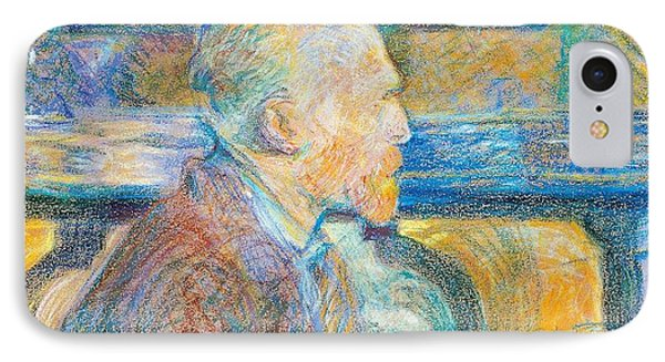 Portrait Of Vincent Van Gogh IPhone Case