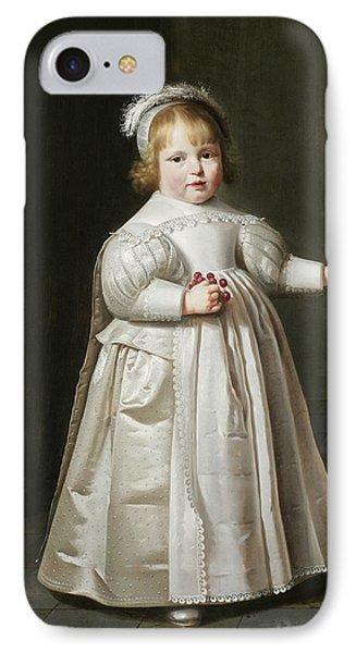Portrait Of Willem Van Der Muelen, Age IPhone Case