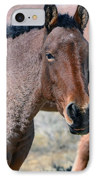 Portrait Pose IPhone Case by Eric Nielsen