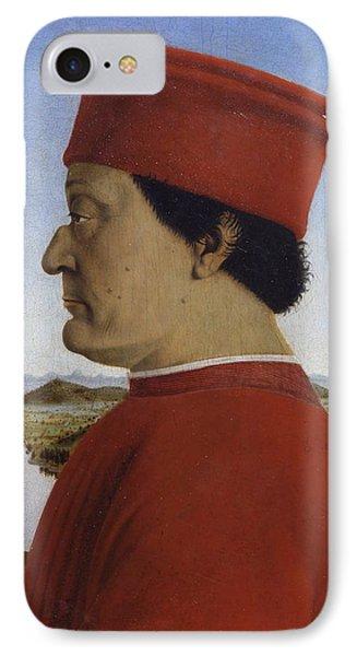 Portraits Of The Duke And Duchess Of Urbino IPhone Case
