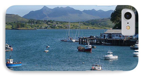 Portree Harbour - Isle Of Skye IPhone Case