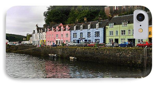 Portree Isle Of Skye Scotland IPhone Case