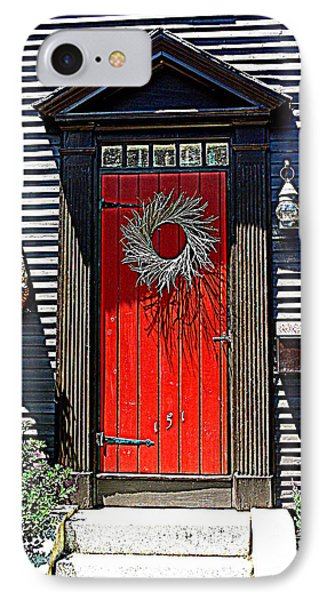 Portsmouth Door 2 Phone Case by Kevin Fortier