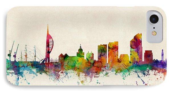 Portsmouth England Skyline IPhone Case