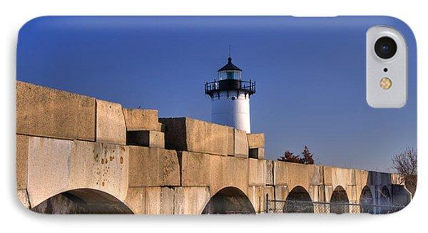 Portsmouth Harbor Light 2 Phone Case by Joann Vitali