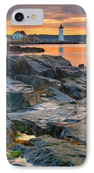 Portsmouth Harbor Light House As Seen IPhone Case by Jerry and Marcy Monkman