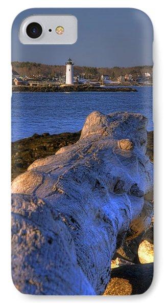 Portsmouth Harbor Light Phone Case by Joann Vitali