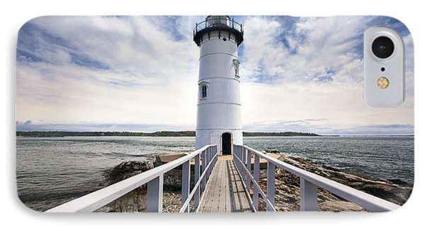 Portsmouth Harbor Lighthouse IPhone Case by Eric Gendron