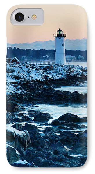 Portsmouth Harbor Lighthouse In New IPhone Case