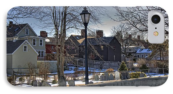 Portsmouth Winter Phone Case by Joann Vitali