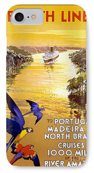 Portugal Vintage Travel Poster IPhone Case by Jon Neidert