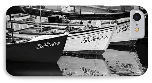 Portuguese Fishing Boats IPhone Case