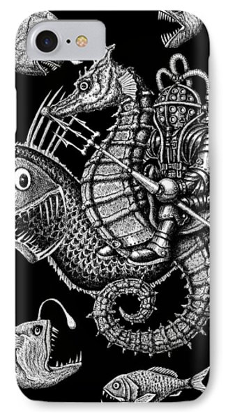 Poseidon Phone Case by Vitaliy Gonikman